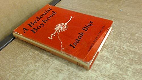 9780049100084: Bedouin Boyhood
