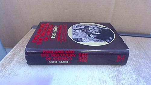 9780049100534: England and the Discovery of America, 1481-1620