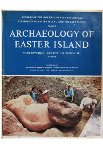 9780049130050: Archaeology of Easter Island: v. 1: Norwegian Archaeological Expedition Reports