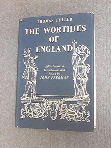 9780049200029: Worthies of England