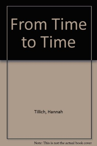 9780049200418: From Time to Time