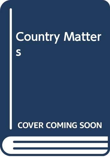 9780049201187: Country Matters