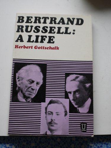 9780049210011: Bertrand Russell: A Life
