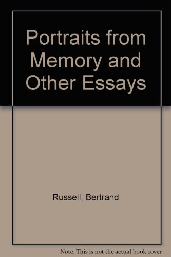 9780049210042: Portraits From Memory Other Cl