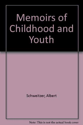 9780049220133: Memoirs of Childhood and Youth