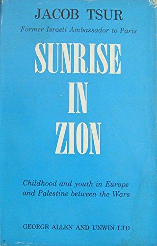 Sunrise in Zion: Tsur, Jacob