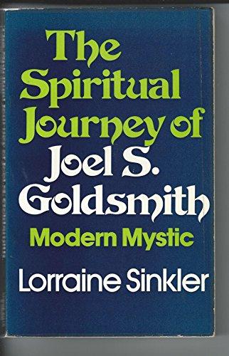 9780049220287: Spiritual Journey of Joel S. Goldsmith: Modern Mystic