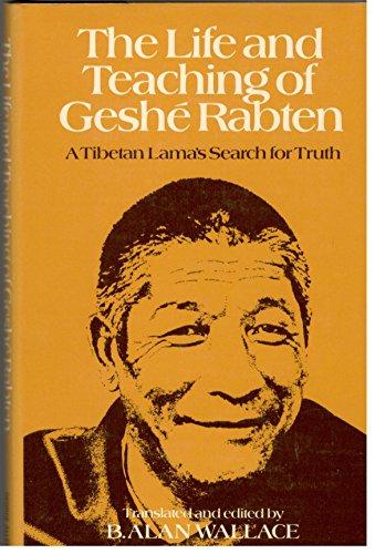 9780049220300: Life and Teaching of Geshe Rabten (English and Tibetan Edition)