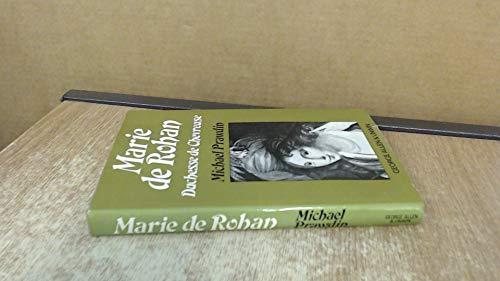 9780049230538: Marie de Rohan, Duchess de Chevreuse