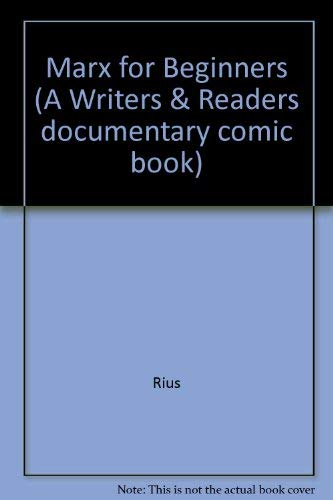 9780049230811: Marx for Beginners (A Writers & Readers Documentary Comic Book)