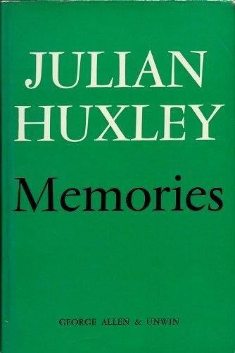 9780049250062: Memories: v. 1
