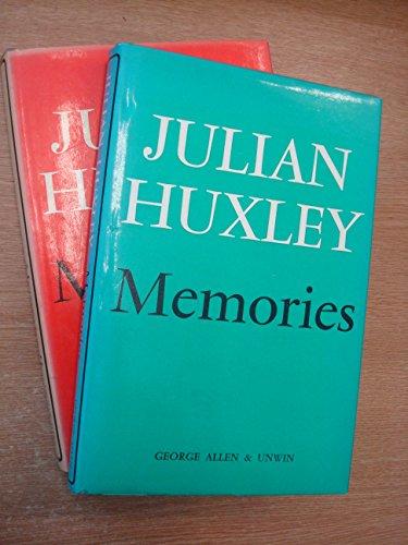 9780049250062: Memories