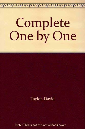 9780049250383: The Complete One by One