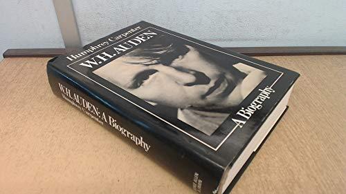 9780049280441: W.H.Auden: A Biography
