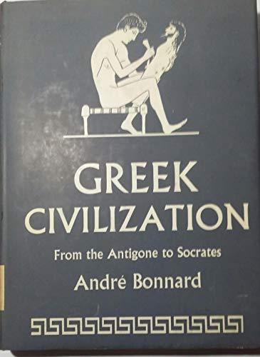 9780049380028: Greek Civilization: From the 'Antigone' to Socrates v. 2