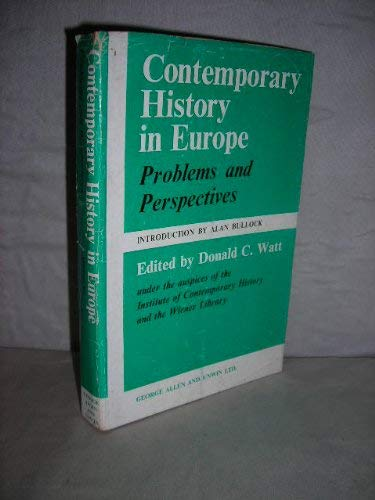 9780049400276: Contemporary History in Europe: Problems and Perspectives