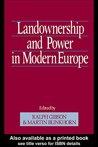 9780049400917: Landownership and Power in Modern Europe