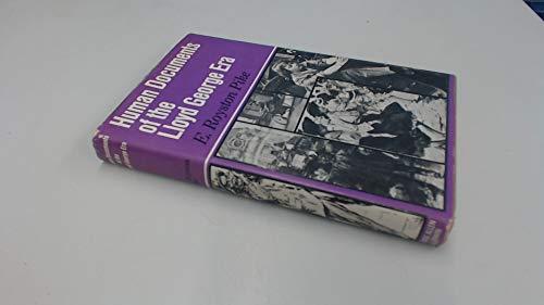 9780049420977: Human Documents of the Lloyd George Era (The human documents series)