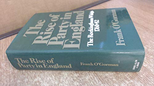 Rise of Party in England: O'Gorman, Frank