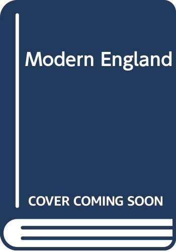 9780049421660: Modern England
