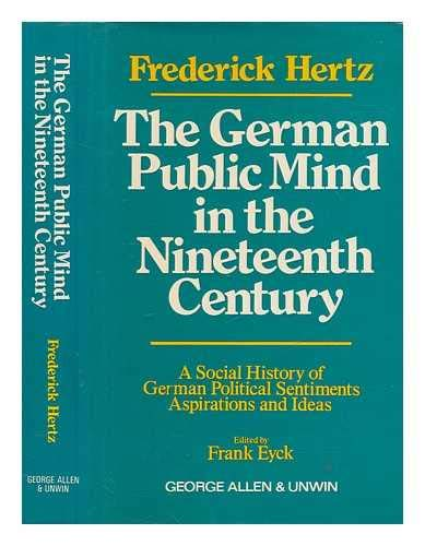 9780049430204: German Public Mind in the Nineteenth Century