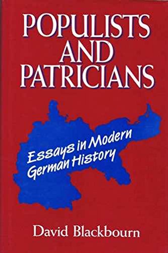 9780049430471: Populists and Patricians: Essays in Modern German History