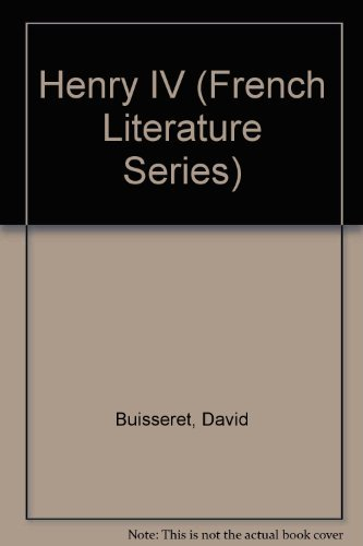 9780049440128: Henry IV (French Literature Series)