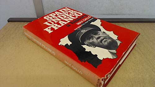 9780049460096: Spain Under Franco: A History (English and French Edition)