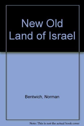 9780049560024: New Old Land of Israel