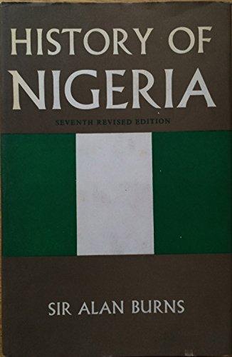 9780049660090: History of Nigeria