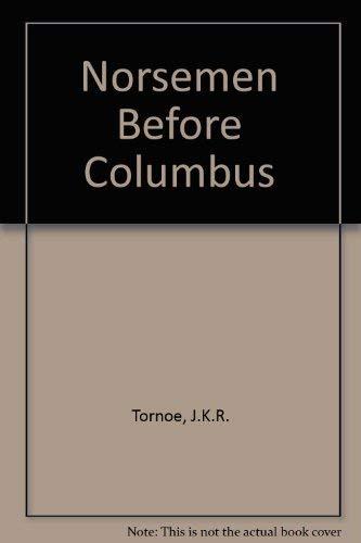 9780049730045: Norsemen Before Columbus