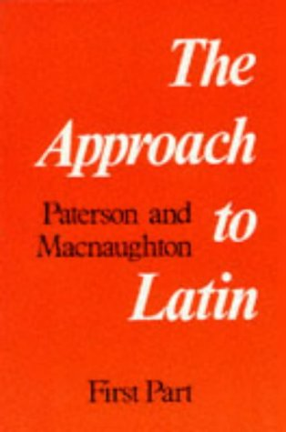 9780050002926: Approach to Latin, first part