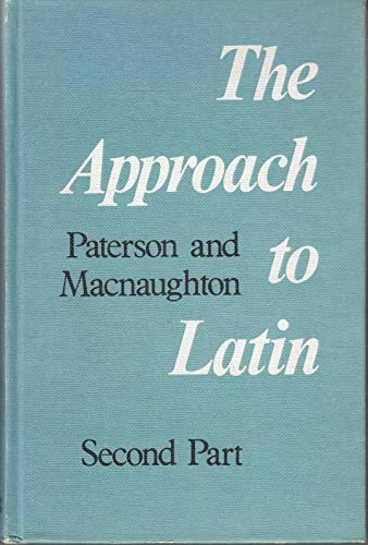 9780050002933: Approach to Latin Part II (Pt. 2)