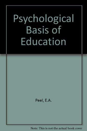 9780050002971: Psychological Basis of Education