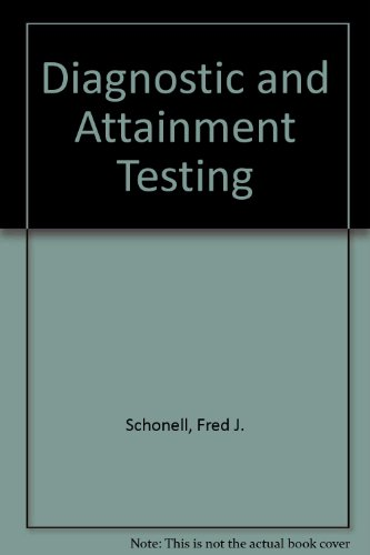 9780050003442: Diagnostic and Attainment Testing