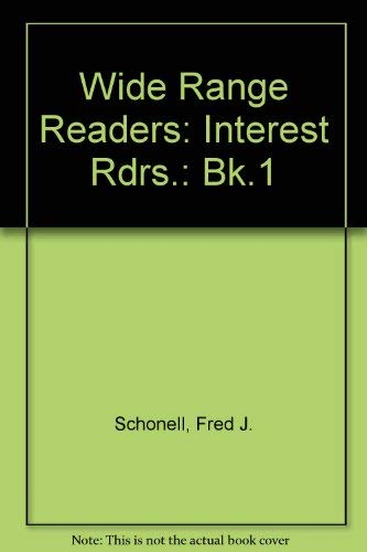 9780050004456: Wide Range Readers: Interest Rdrs.: Bk.1