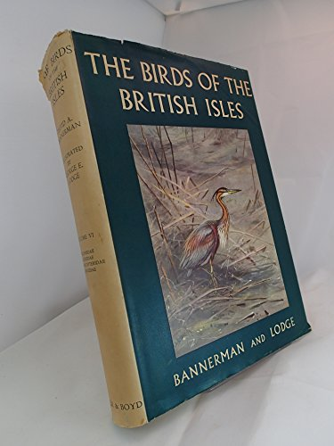 9780050007051: The Birds of the British Isles: Volume VI (6)