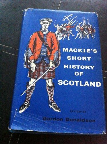 9780050010426: Short History of Scotland
