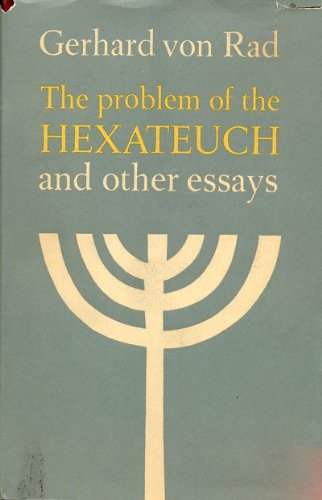 9780050011386: Problems of the Hexateuch and Other Essays