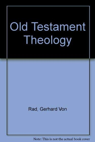 9780050011393: Old Testament Theology Volume 1