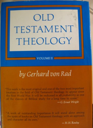 9780050011409: Old Testament Theology Vol 2
