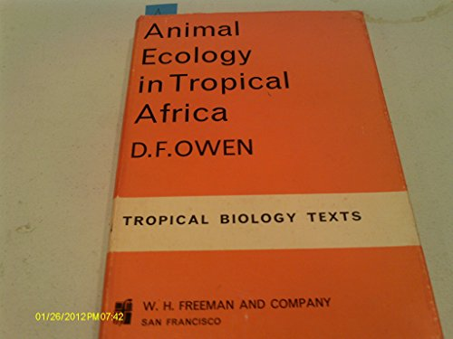 9780050012413: Animal Ecology in Tropical Africa