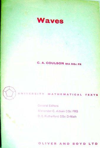 9780050013137: Waves (University Mathematical Texts)