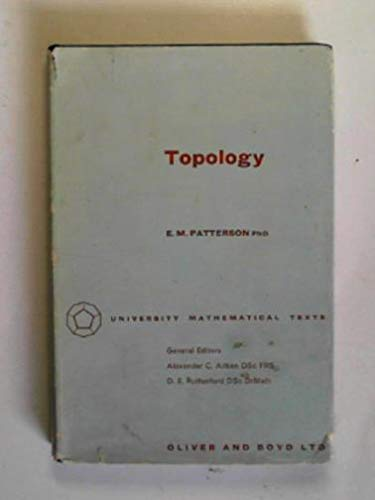 9780050013366: Topology (University Mathematical Texts)