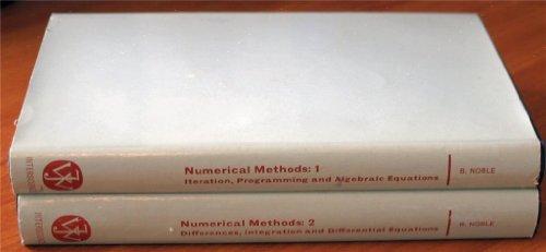 9780050013519: Numerical Methods