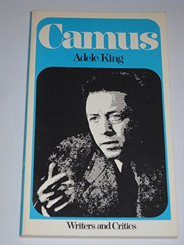 9780050014233: Camus (Writers & Critics)