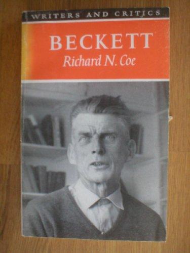 9780050014301: Beckett (Writers & Critics)