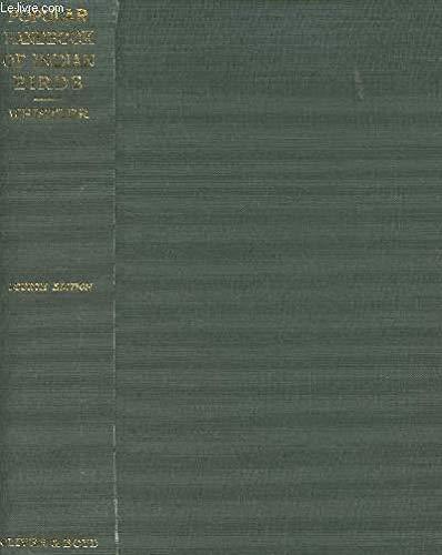 Popular Handbook of Indian Birds: Whistler, Hugh; Kinnear,