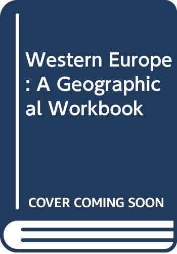 9780050015278: Geographical studies in Western Europe,