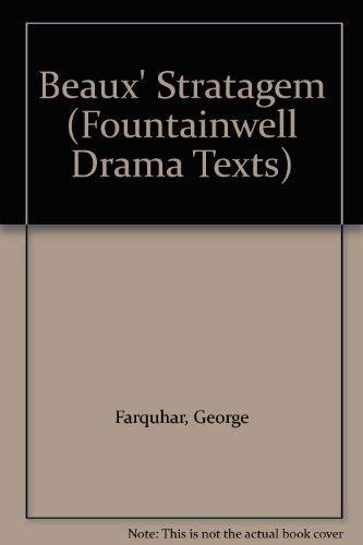 9780050015735: Beaux' Stratagem (Fountainwell Drama Texts)